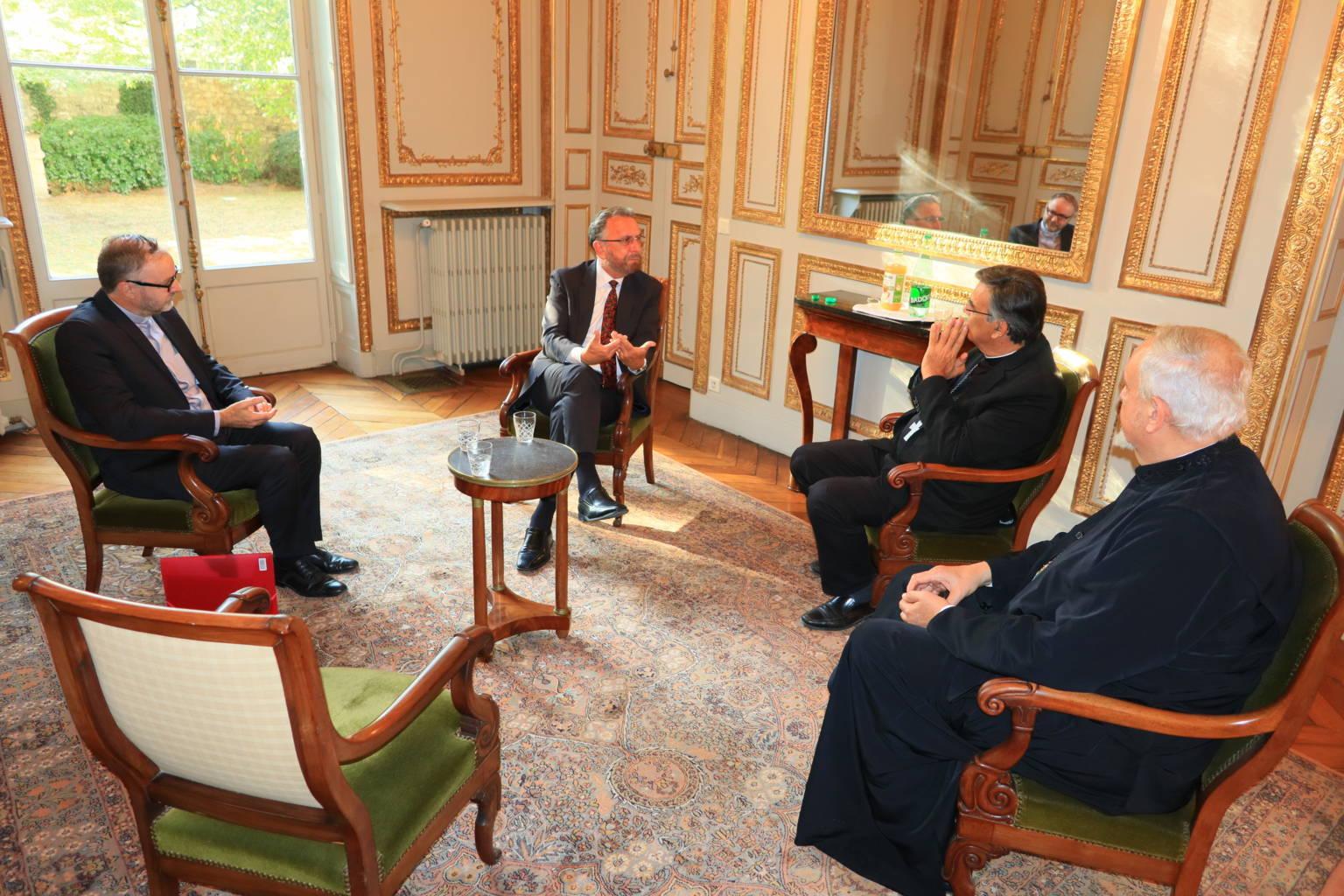 IMG 0304 - Συνάντηση του Μητροπολίτη Γαλλίας με τον ΡωμαιοκαθολικόΑρχιεπίσκοπο Παρισίων