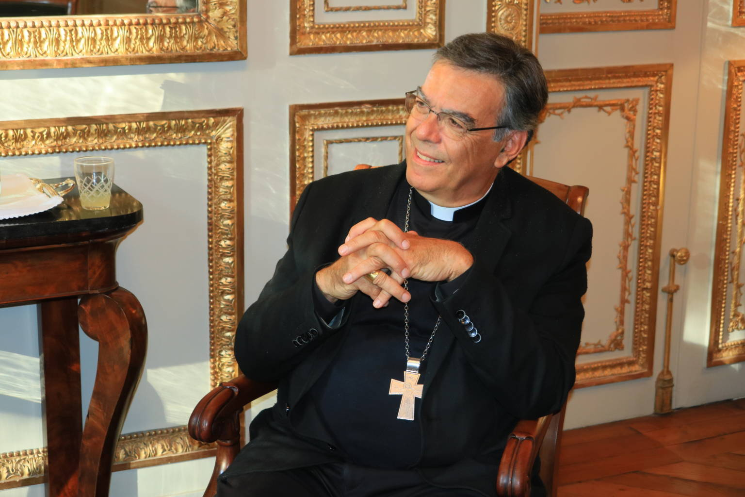 IMG 0309 - Συνάντηση του Μητροπολίτη Γαλλίας με τον ΡωμαιοκαθολικόΑρχιεπίσκοπο Παρισίων
