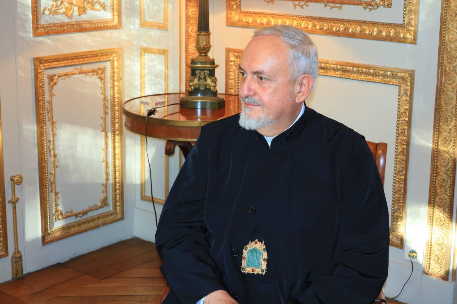 IMG 0311 - Συνάντηση του Μητροπολίτη Γαλλίας με τον ΡωμαιοκαθολικόΑρχιεπίσκοπο Παρισίων