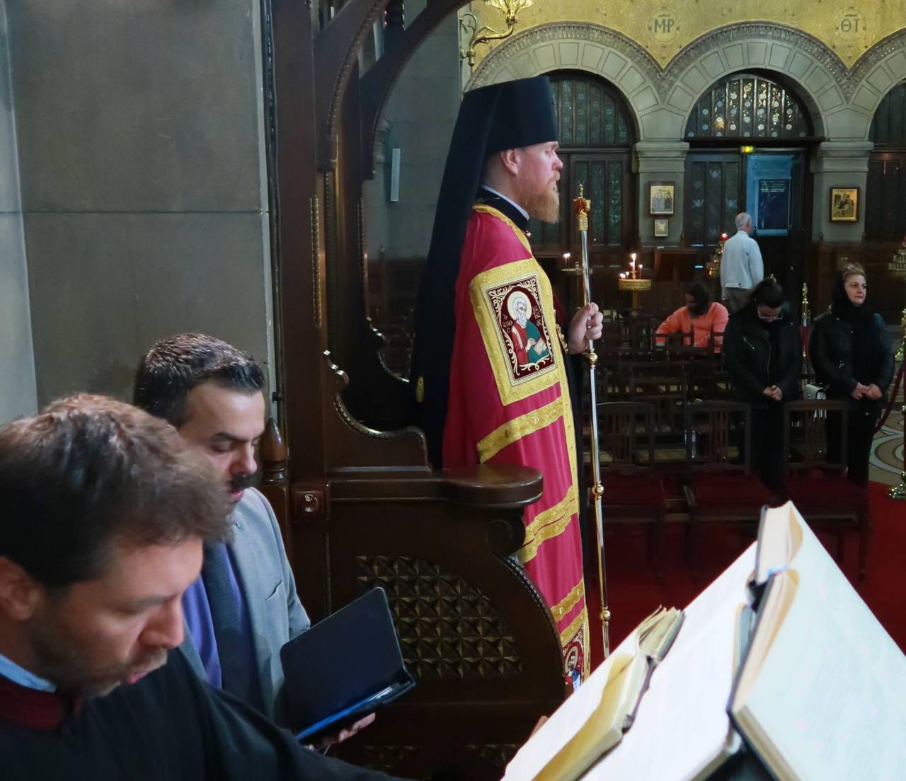 IMG 3291 - Ο Αρχιεπίσκοπος Τσερνιχίβ κ. Ευστράτιος στο Παρίσι