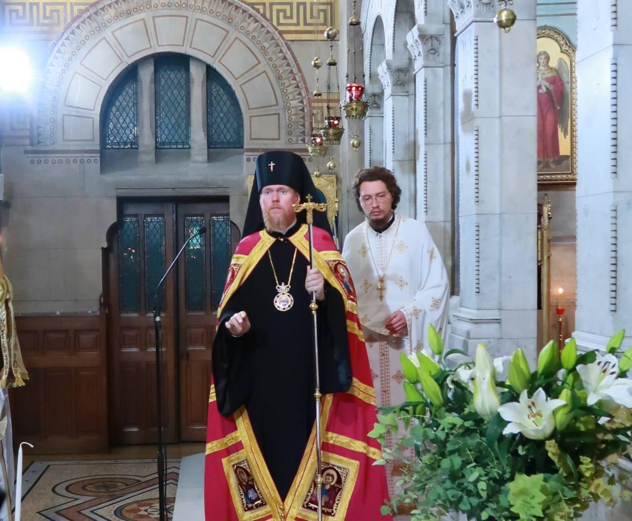 IMG 3295 - Ο Αρχιεπίσκοπος Τσερνιχίβ κ. Ευστράτιος στο Παρίσι