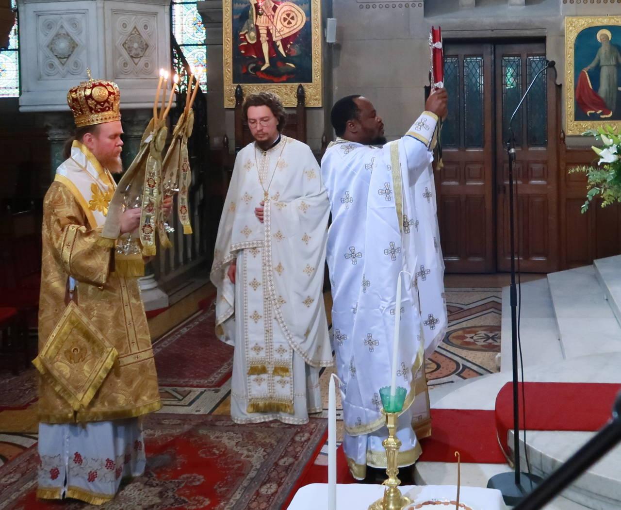 IMG 3307 - Ο Αρχιεπίσκοπος Τσερνιχίβ κ. Ευστράτιος στο Παρίσι