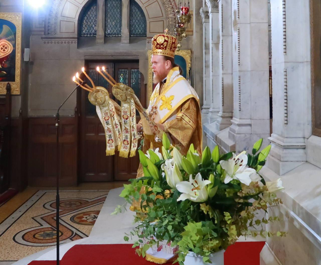 IMG 3315 - Ο Αρχιεπίσκοπος Τσερνιχίβ κ. Ευστράτιος στο Παρίσι