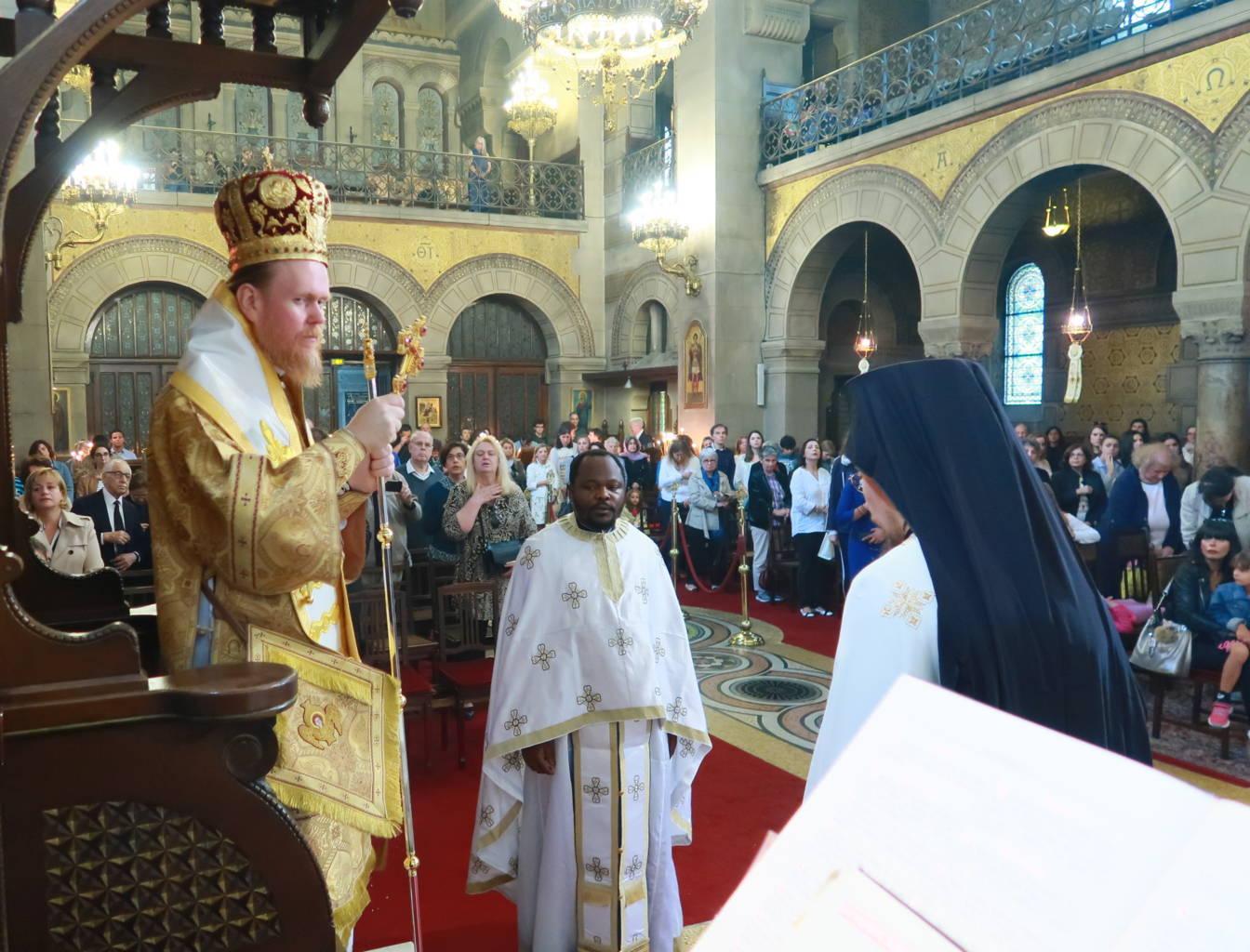 IMG 3336 - Ο Αρχιεπίσκοπος Τσερνιχίβ κ. Ευστράτιος στο Παρίσι