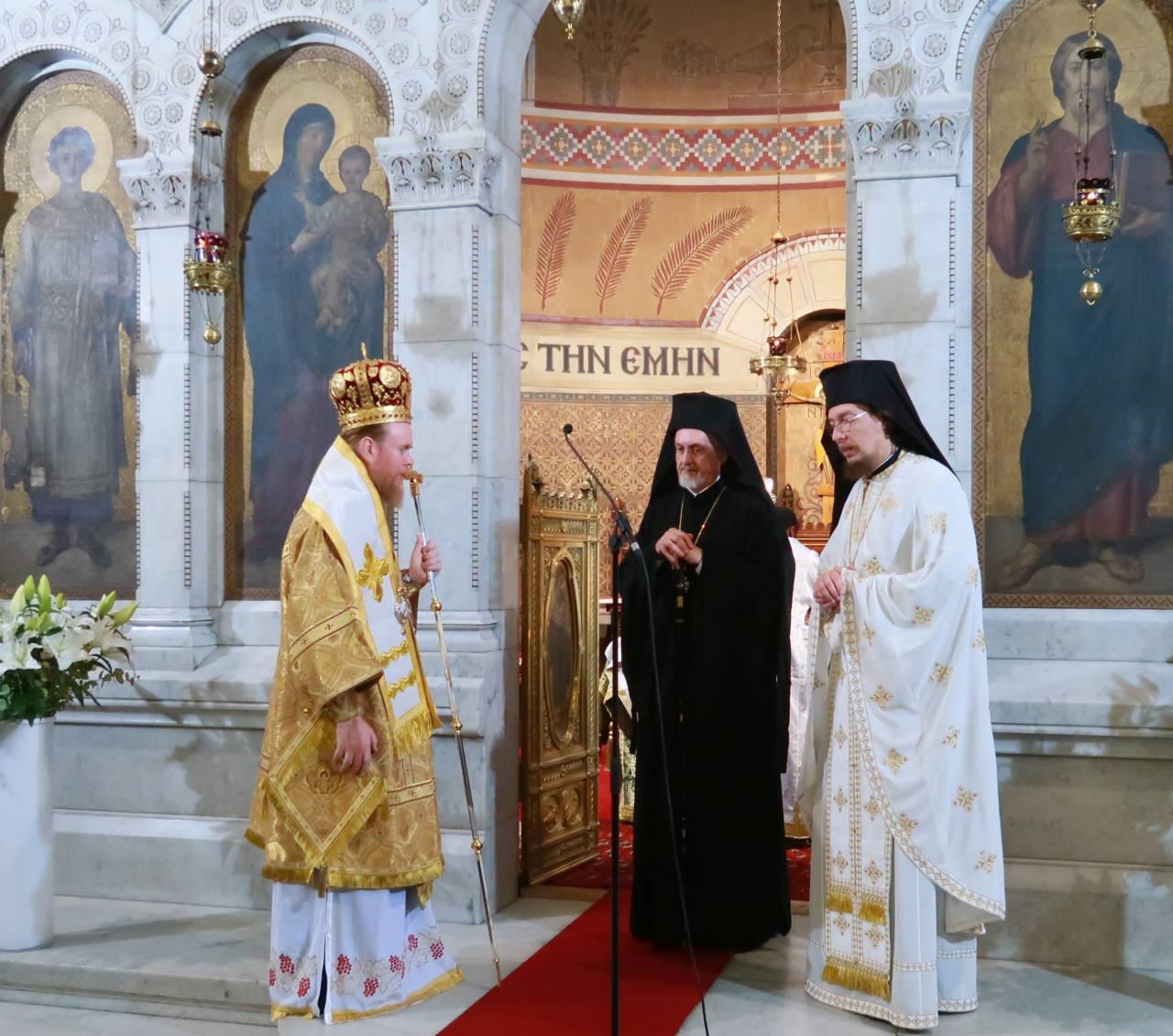 IMG 3342 - Ο Αρχιεπίσκοπος Τσερνιχίβ κ. Ευστράτιος στο Παρίσι
