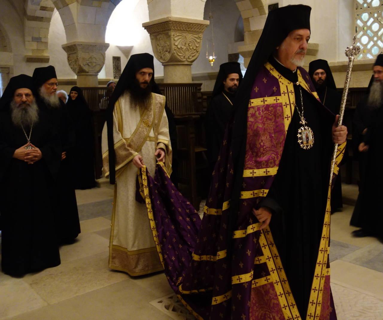 12 10 2019 2 - Λαμπρά εγκαίνια του Καθολικού της Ι. Μονής Αγίας Σκέπης Σολάν