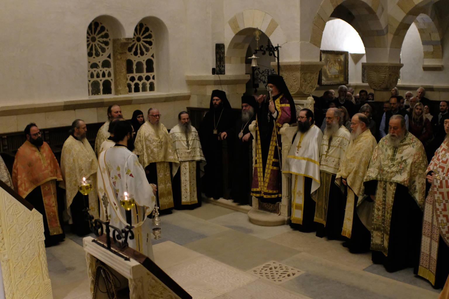 12 10 2019 47 - Λαμπρά εγκαίνια του Καθολικού της Ι. Μονής Αγίας Σκέπης Σολάν