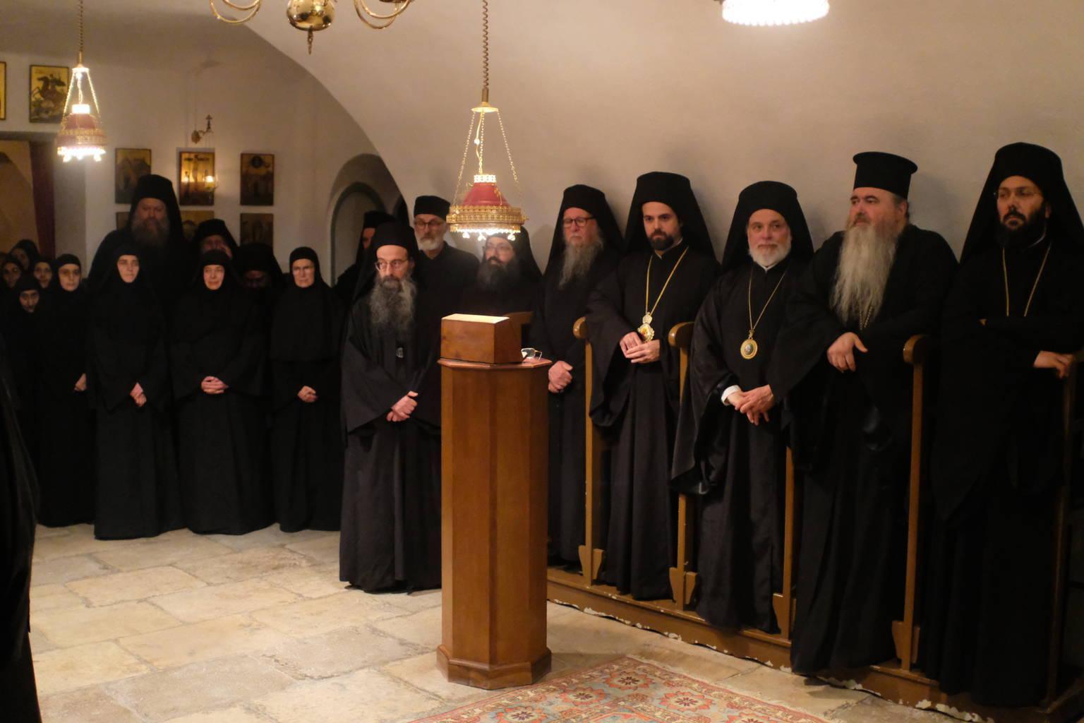 12 10 2019 58 - Λαμπρά εγκαίνια του Καθολικού της Ι. Μονής Αγίας Σκέπης Σολάν