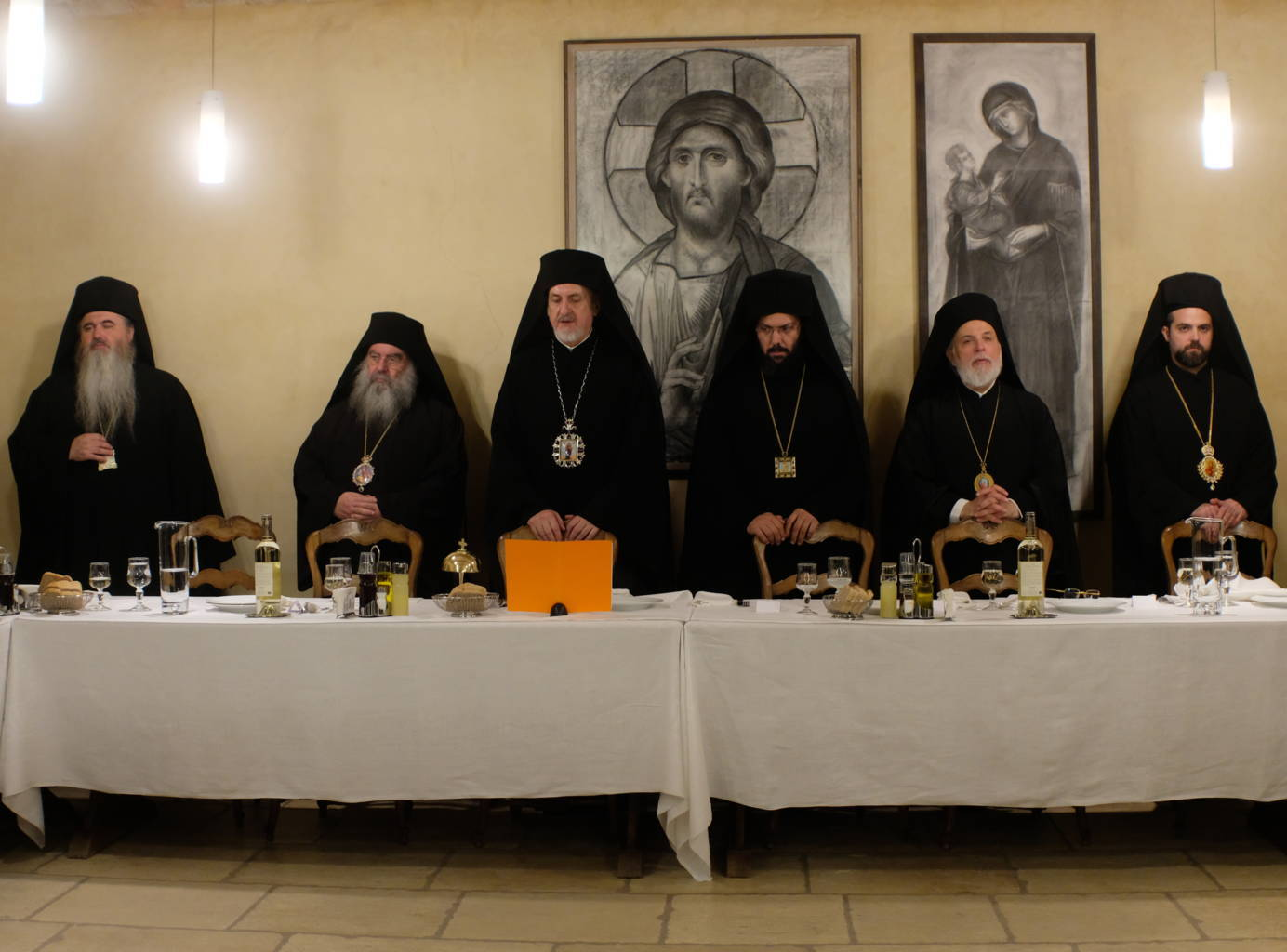 12 10 2019 62 - Λαμπρά εγκαίνια του Καθολικού της Ι. Μονής Αγίας Σκέπης Σολάν