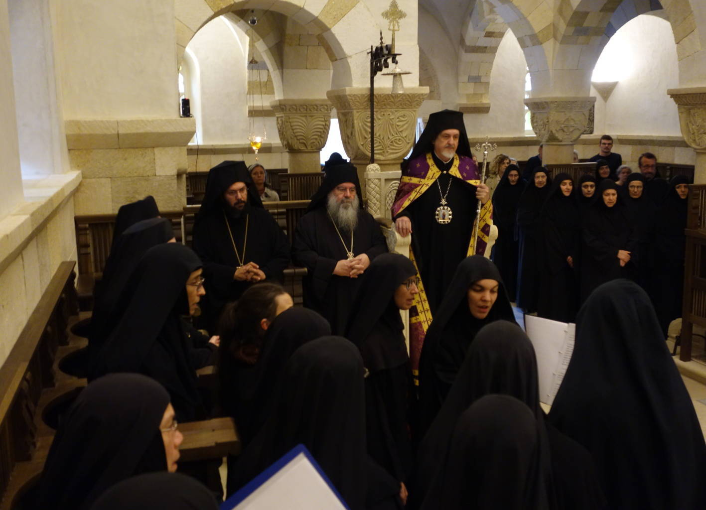 12 10 2019 7 - Λαμπρά εγκαίνια του Καθολικού της Ι. Μονής Αγίας Σκέπης Σολάν