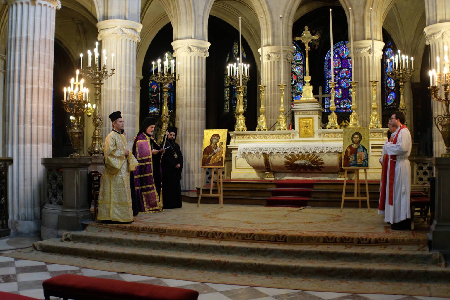 DSCF2002 - Παρίσι: Ορθόδοξος Εσπερινός στον Άγιο Γερμανό Λούβρου