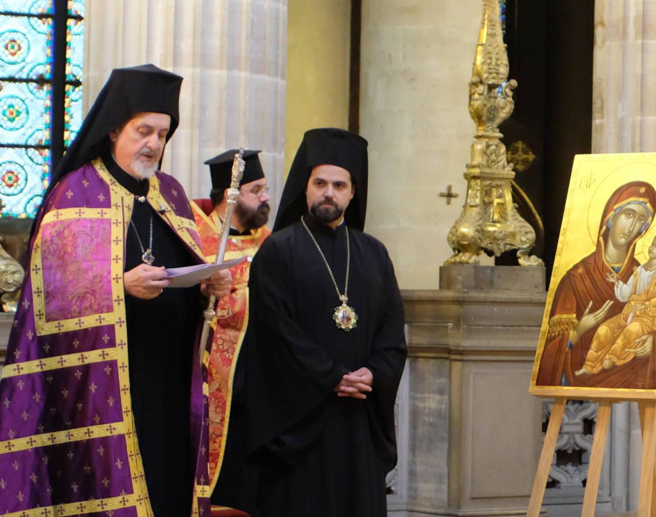 DSCF2003 - Παρίσι: Ορθόδοξος Εσπερινός στον Άγιο Γερμανό Λούβρου