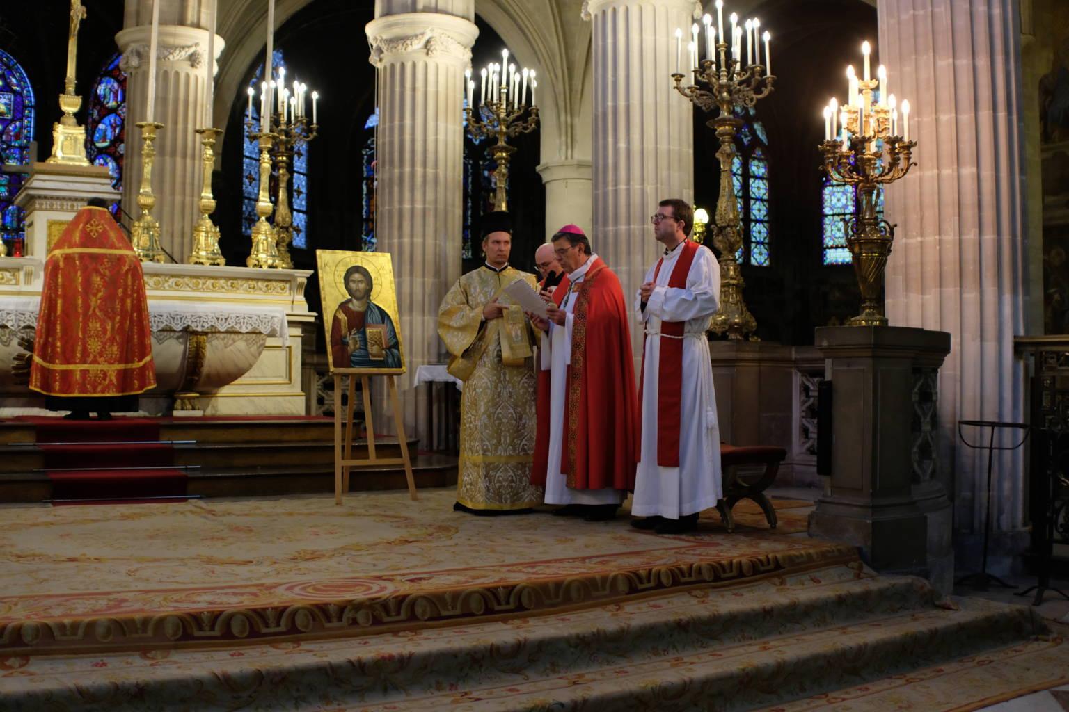 DSCF2009 - Παρίσι: Ορθόδοξος Εσπερινός στον Άγιο Γερμανό Λούβρου