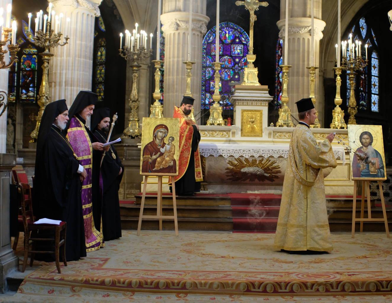 DSCF2019 - Παρίσι: Ορθόδοξος Εσπερινός στον Άγιο Γερμανό Λούβρου