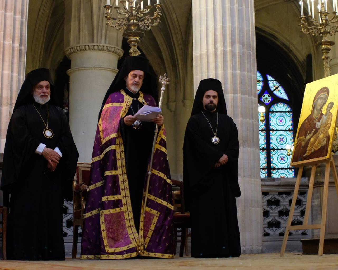 DSCF2038 - Παρίσι: Ορθόδοξος Εσπερινός στον Άγιο Γερμανό Λούβρου
