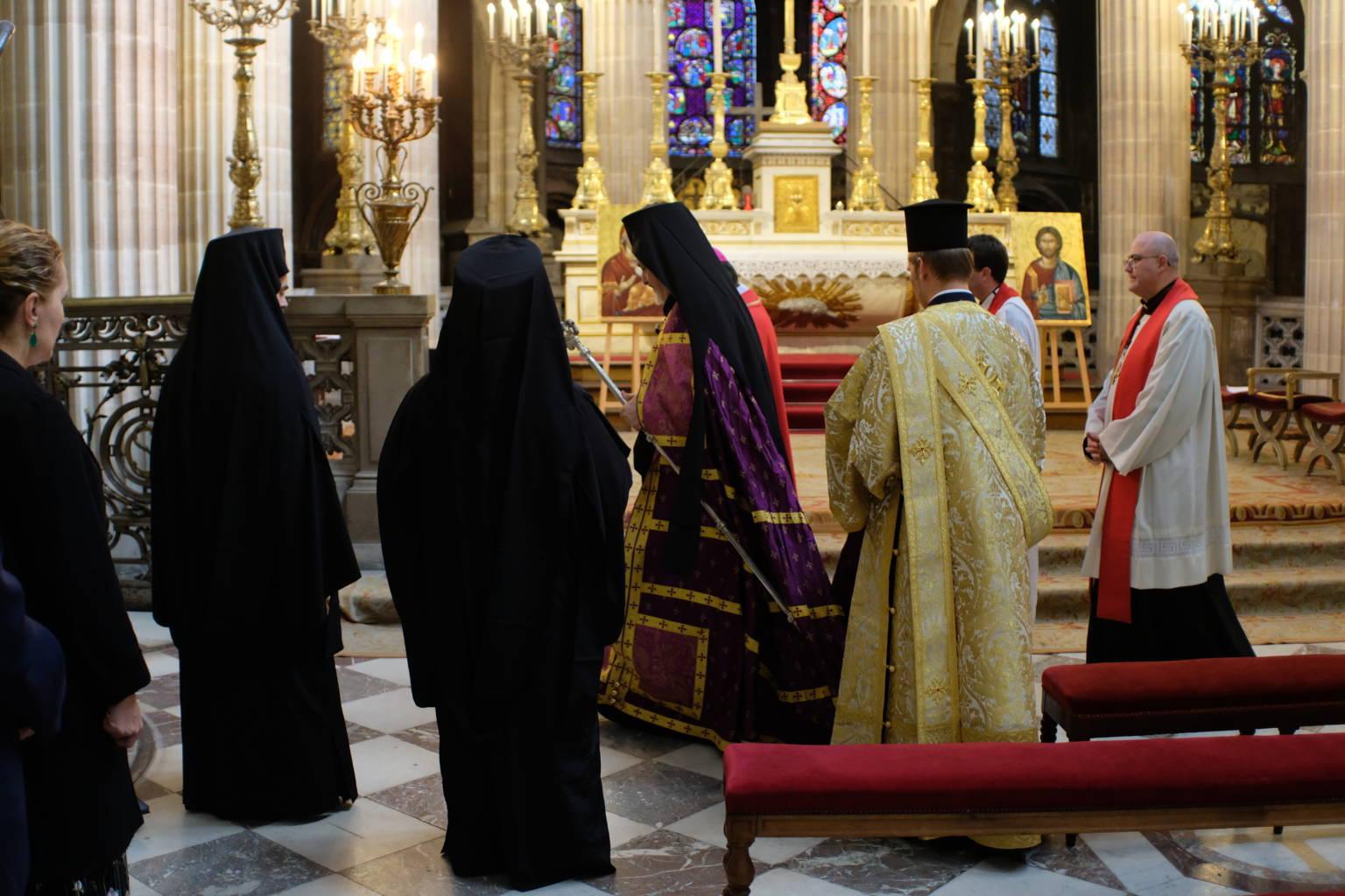 DSCF2053 - Παρίσι: Ορθόδοξος Εσπερινός στον Άγιο Γερμανό Λούβρου