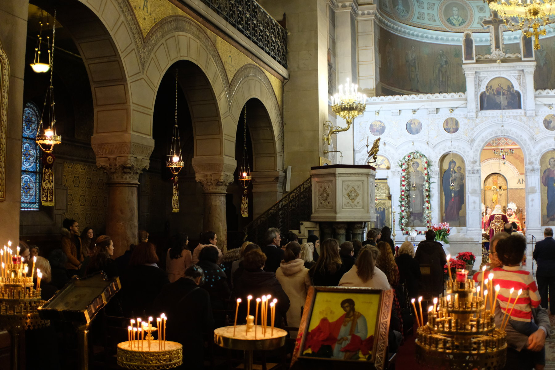 DSCF2895 - Πολυαρχιερατική Θεία Λειτουργία στο Παρίσι (φωτο)