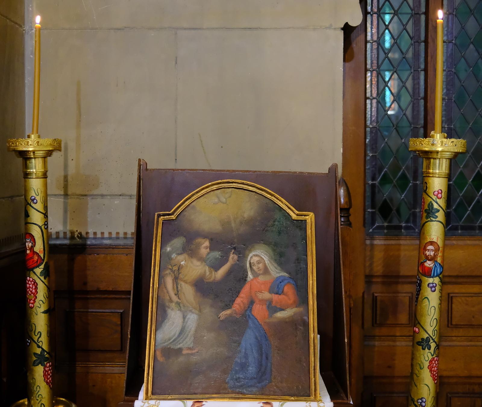1  - Ο Ευαγγελισμός της Θεοτόκου στο Παρίσι (φωτο)