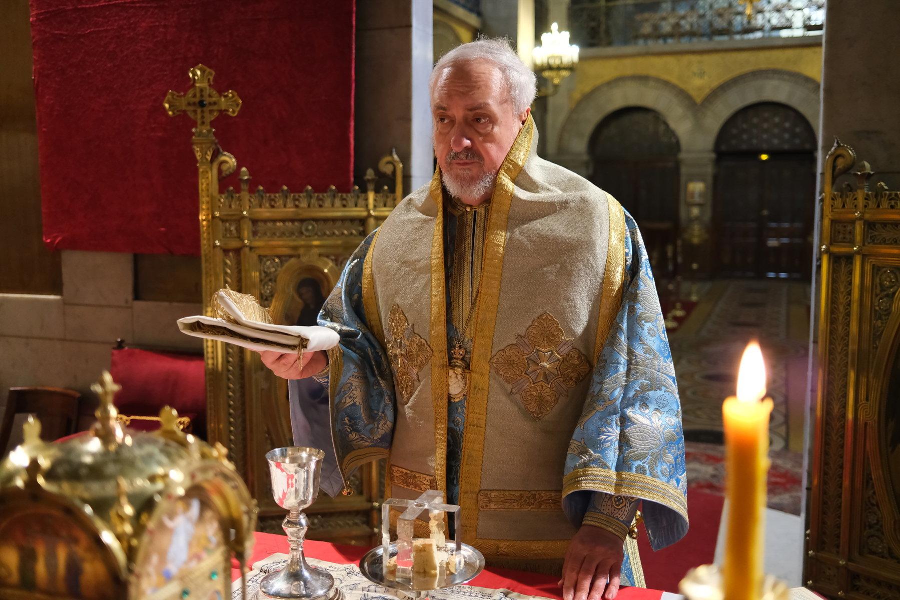 11  - Ο Ευαγγελισμός της Θεοτόκου στο Παρίσι (φωτο)
