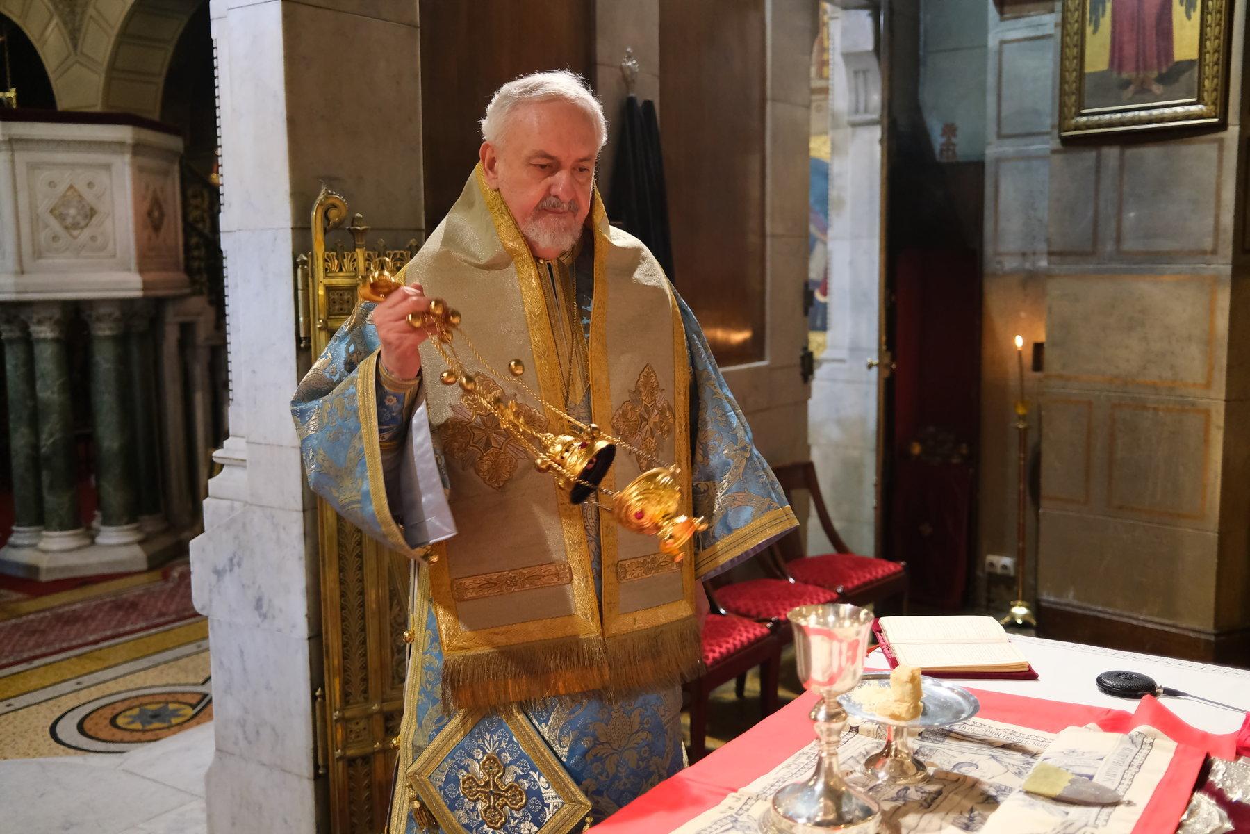 13  - Ο Ευαγγελισμός της Θεοτόκου στο Παρίσι (φωτο)