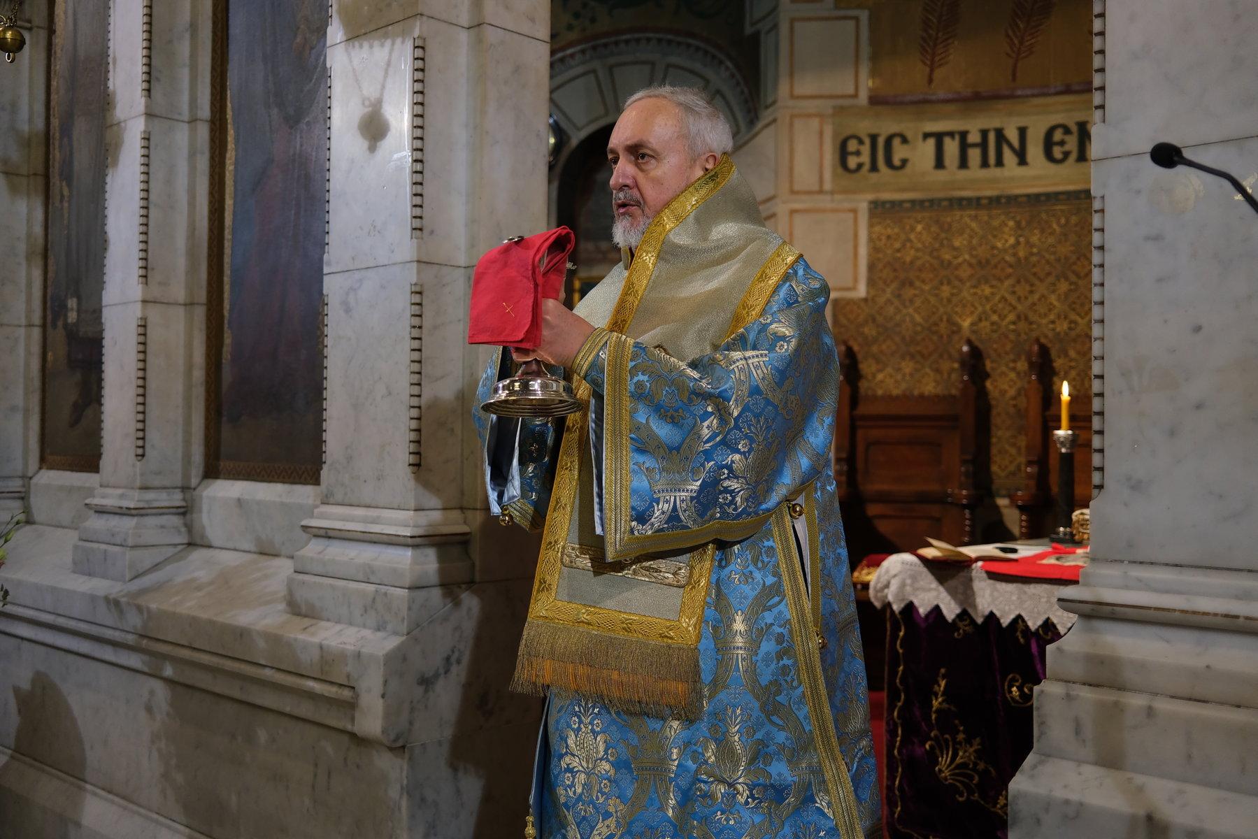 15  - Ο Ευαγγελισμός της Θεοτόκου στο Παρίσι (φωτο)