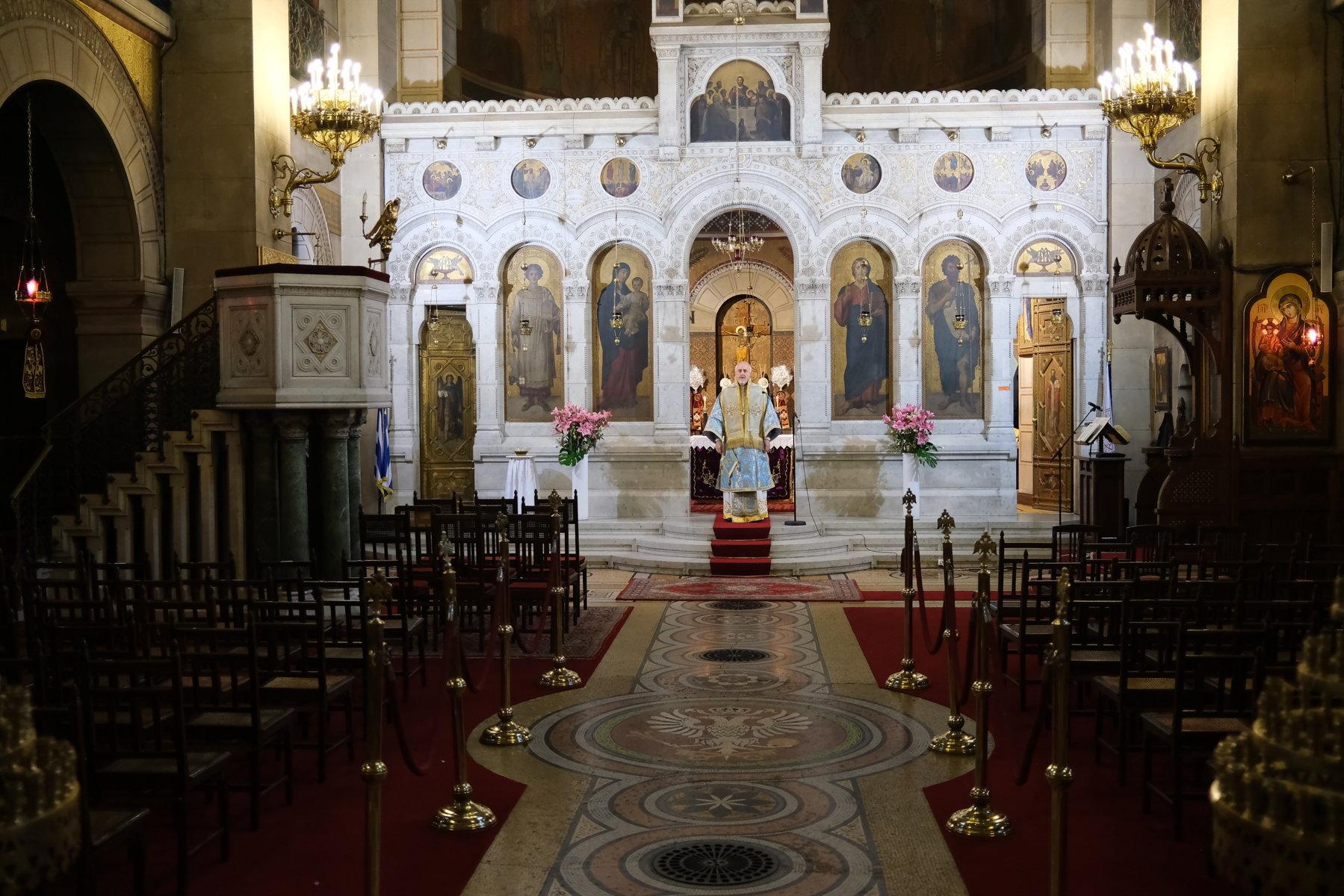17  - Ο Ευαγγελισμός της Θεοτόκου στο Παρίσι (φωτο)