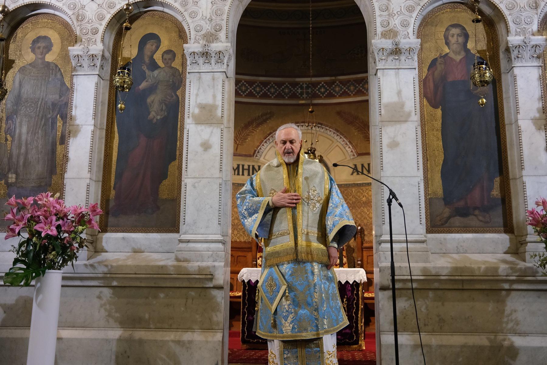 18  - Ο Ευαγγελισμός της Θεοτόκου στο Παρίσι (φωτο)