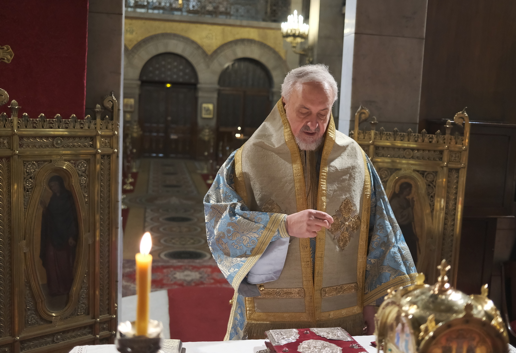 3  - Ο Ευαγγελισμός της Θεοτόκου στο Παρίσι (φωτο)