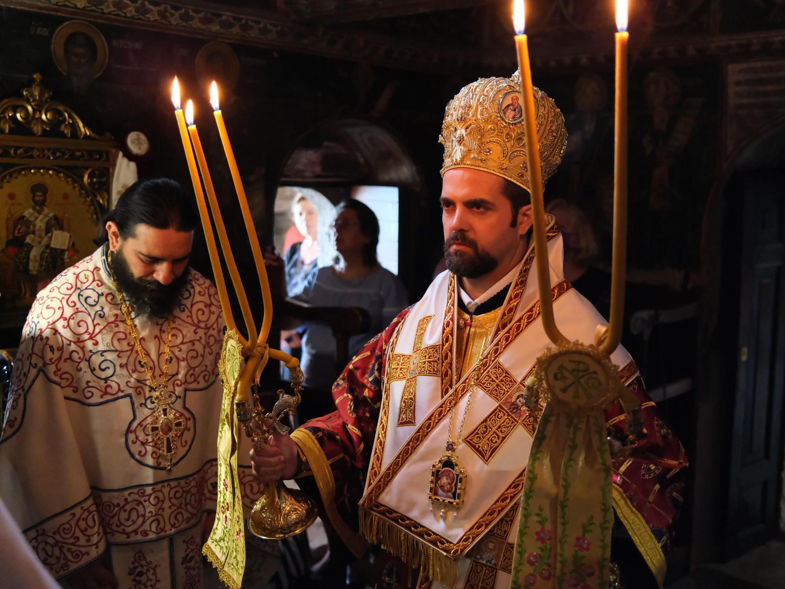 DSCF7791  - Ο Επίσκοπος Μελιτηνής στην Ι. Μονή Παναγίας Πελεκητής