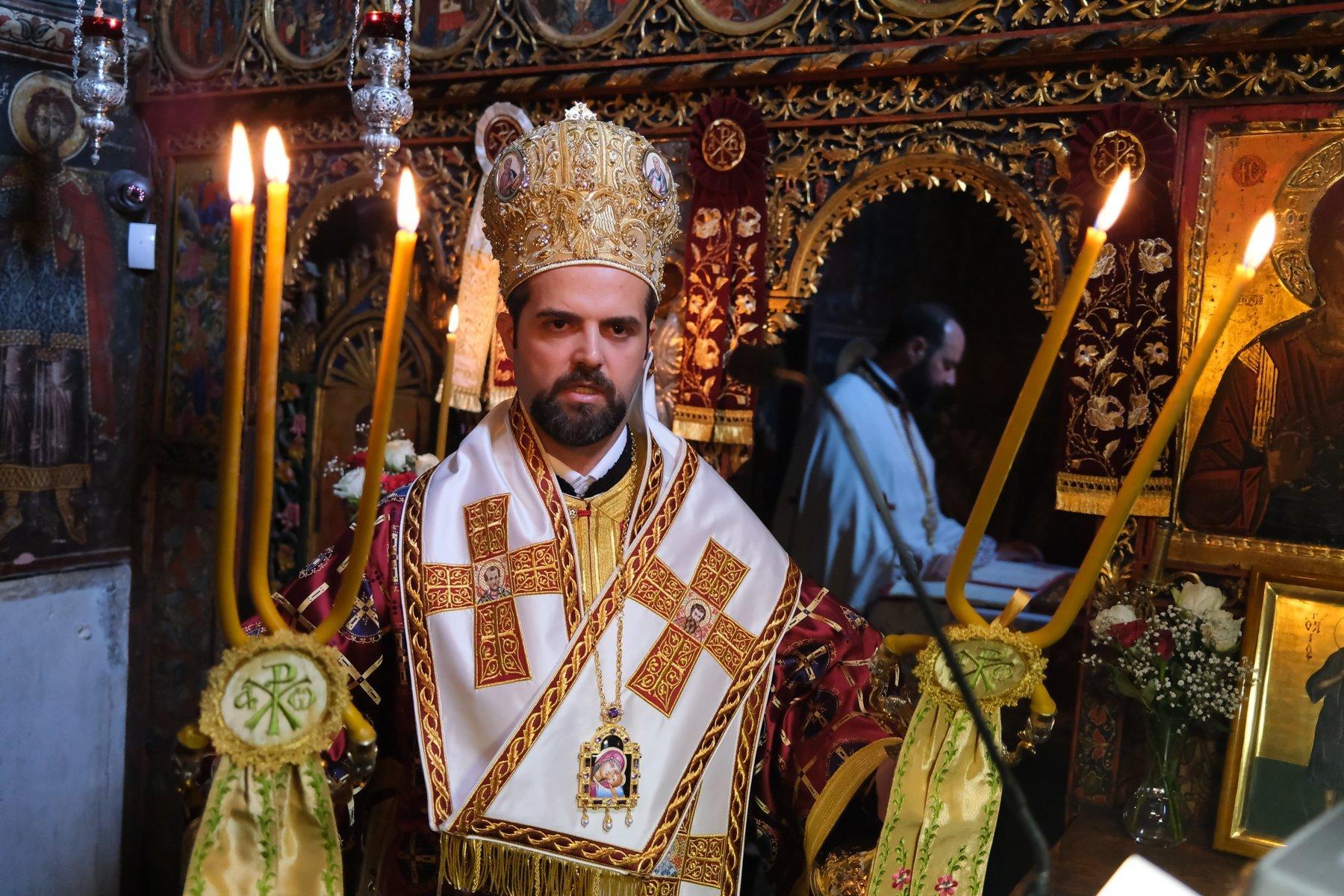 DSCF7813  - Ο Επίσκοπος Μελιτηνής στην Ι. Μονή Παναγίας Πελεκητής