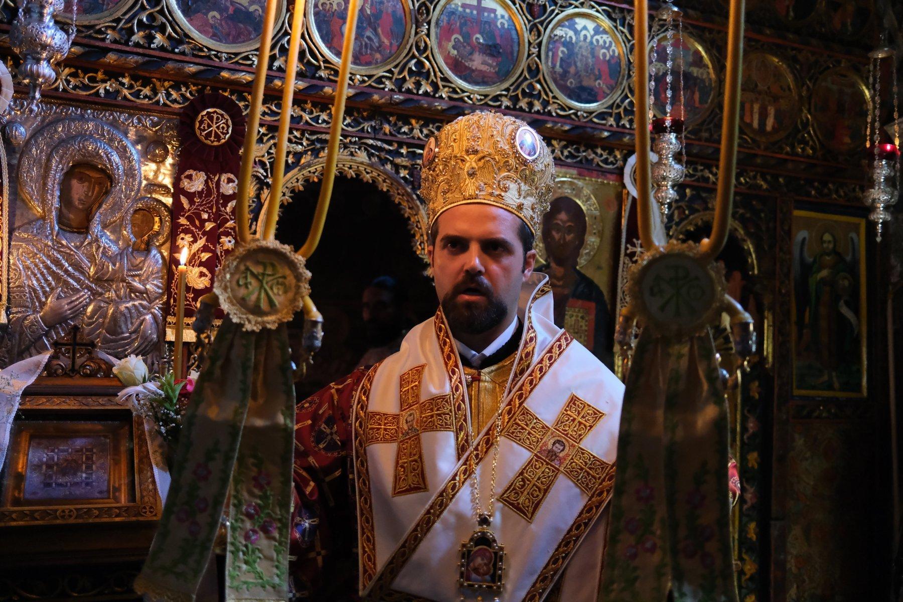 DSCF7817  - Ο Επίσκοπος Μελιτηνής στην Ι. Μονή Παναγίας Πελεκητής