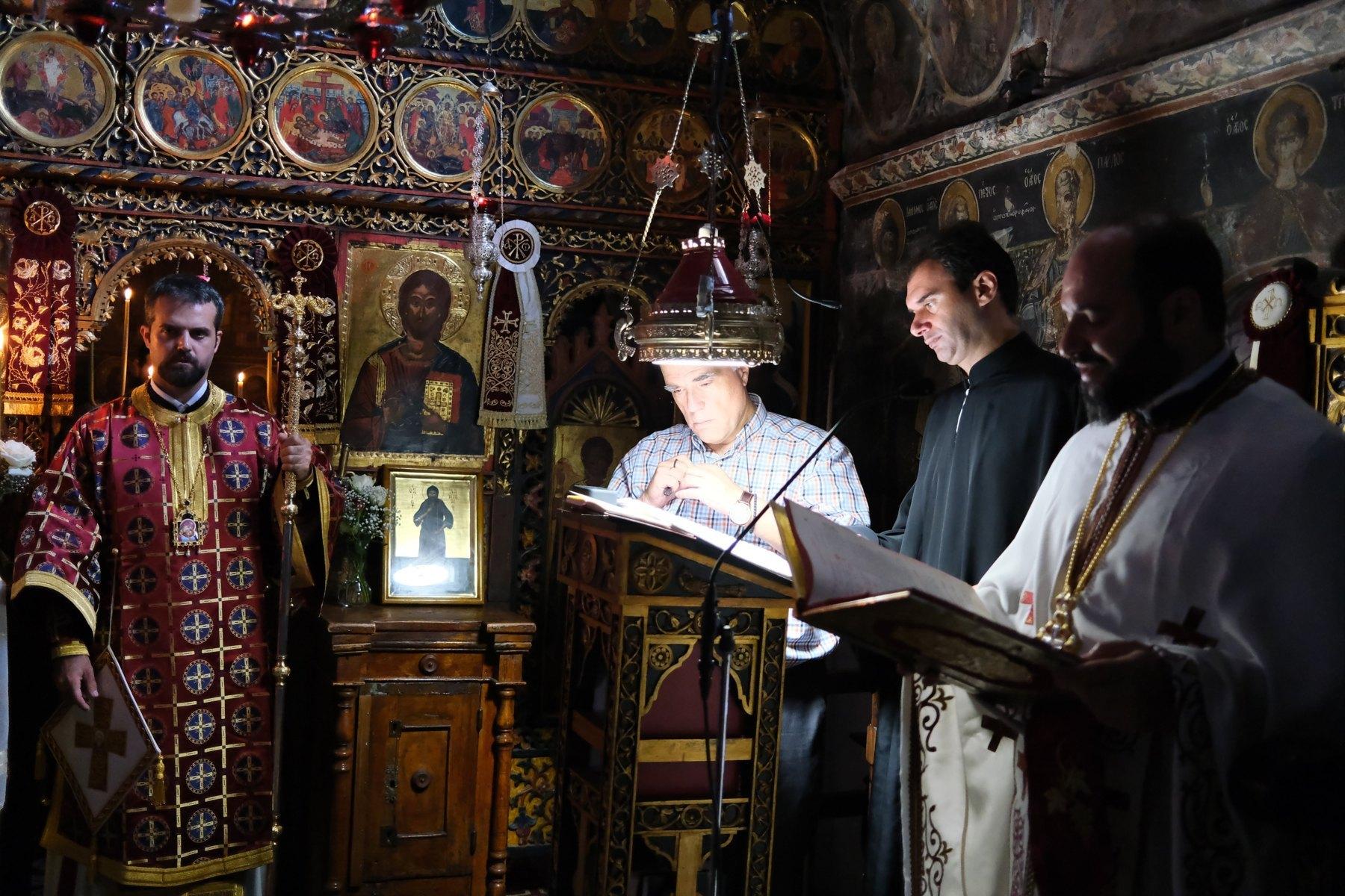 DSCF7831  - Ο Επίσκοπος Μελιτηνής στην Ι. Μονή Παναγίας Πελεκητής