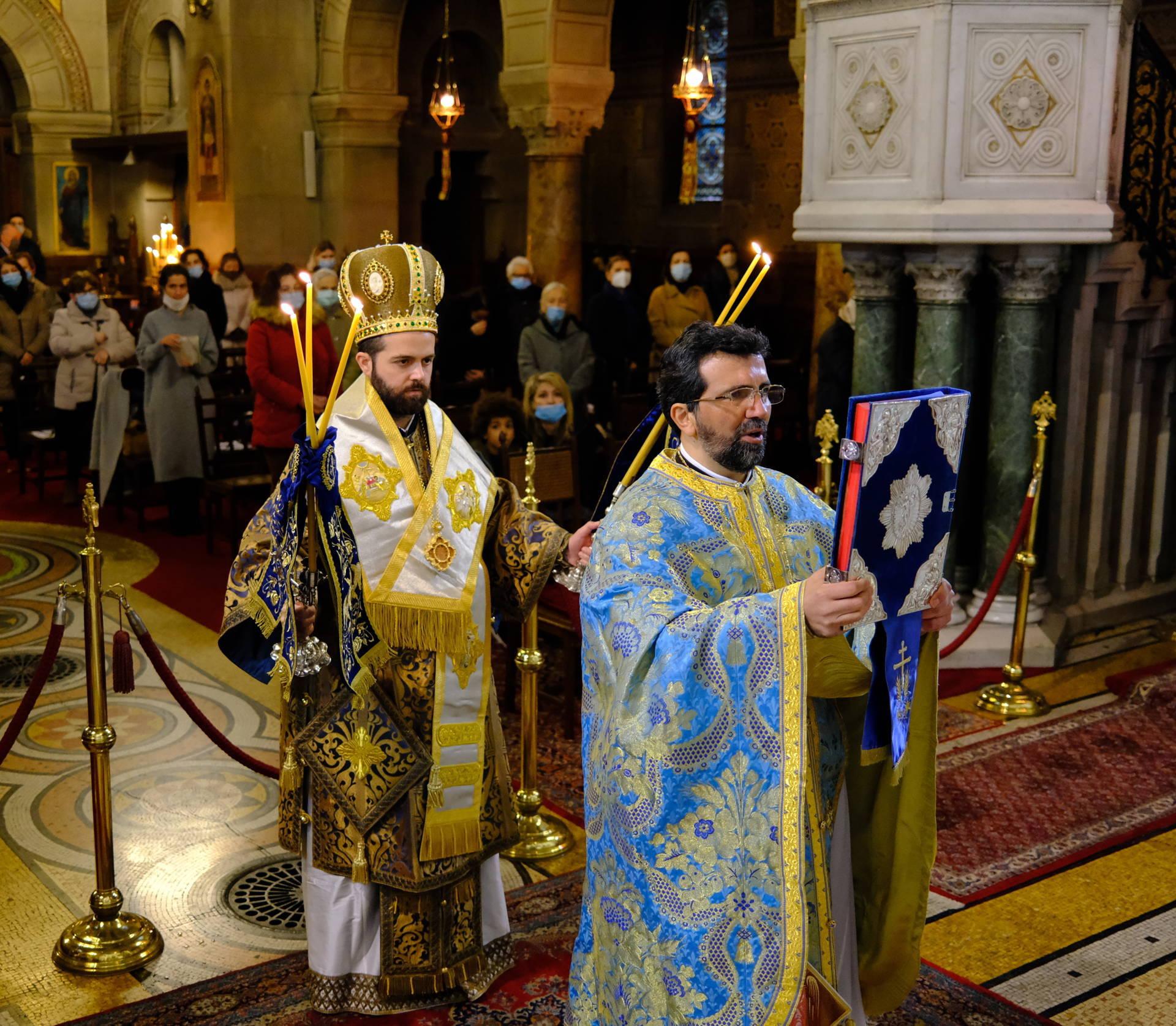 DSCF2775  - Οι Έλληνες του Παρισιού εόρτασαν τα Θεοφάνεια (φωτο)