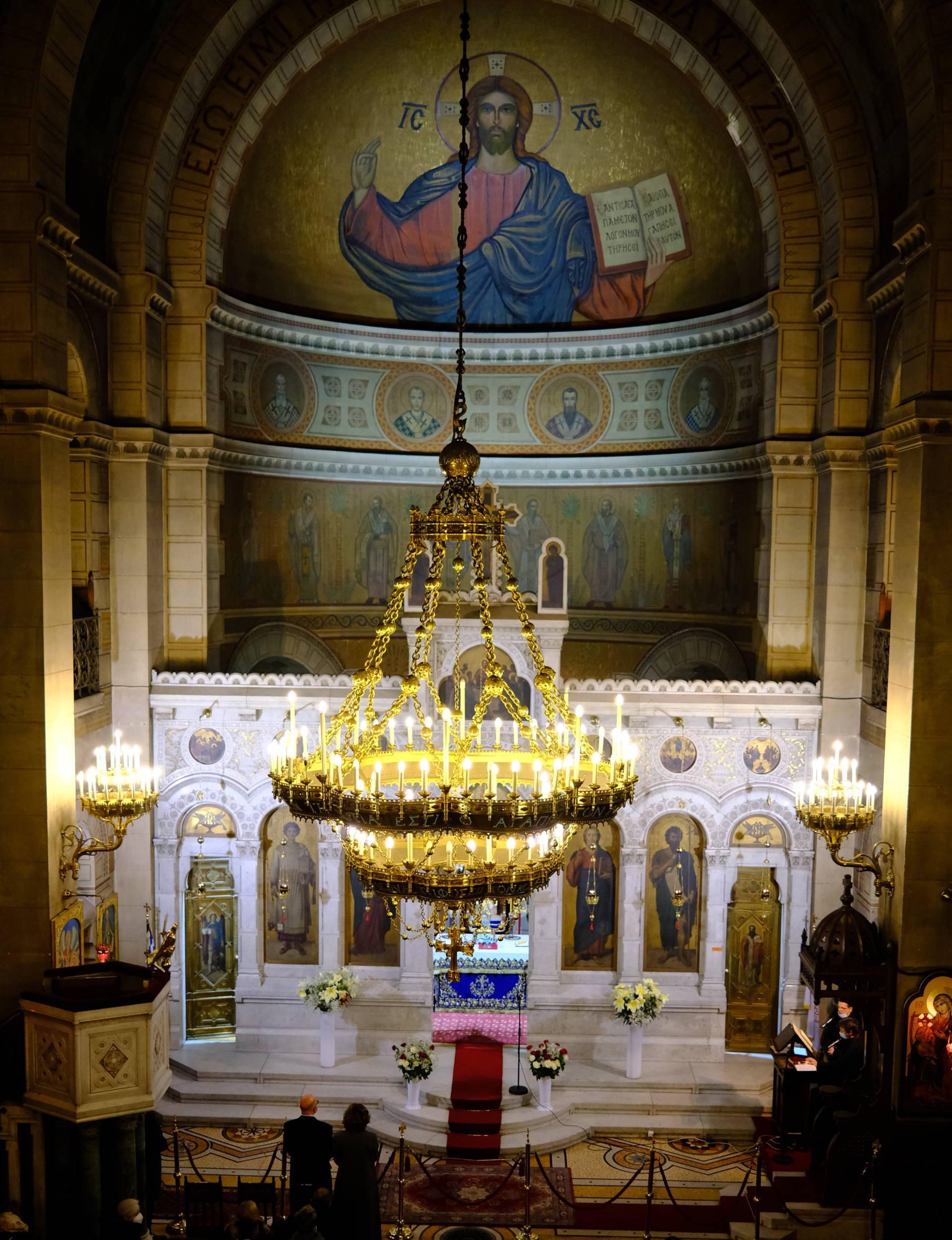 DSCF3557  - Οι Έλληνες του Παρισιού εόρτασαν τα Θεοφάνεια (φωτο)